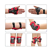 007b9793b Kids Child Skating Support Protection Gear Set Wrist Guard Elbow Pads Knee  Pads