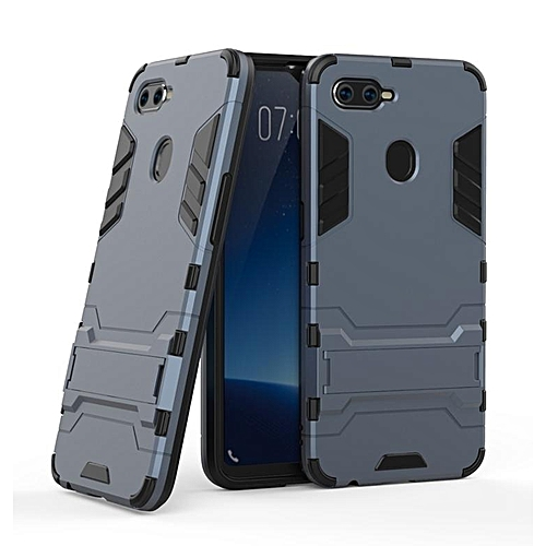 brand new 9931b bc103 For OPPO F9 Case Slim Hard Back Phone Case For OPPOF9 Robot Armor Protector  Hybrid Rugged Rubber Cover Case
