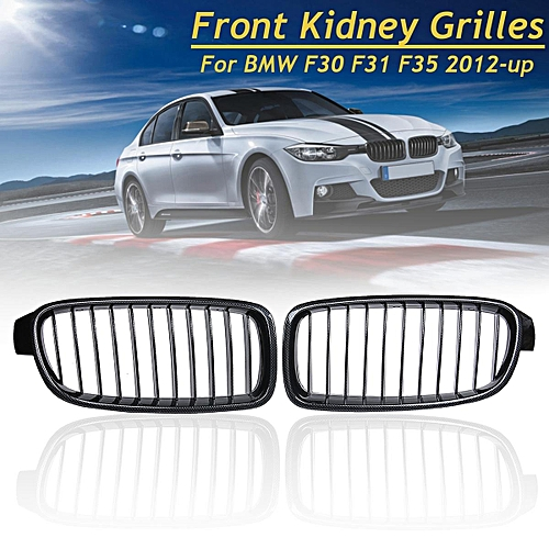 Buy Generic Carbon Fiber Front Kidney Grill Grille For Bmw F30 F31