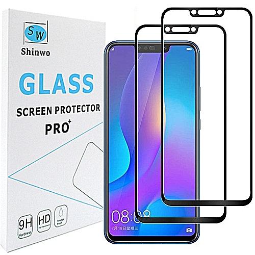 Huawei Nova 3 Full Cover Screen Protector(2 Pack)