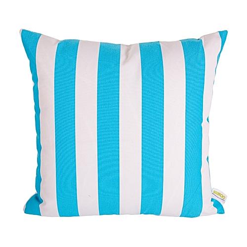 Domus Outdoor Pillow 45cm X 45cm Blue White At Best Price