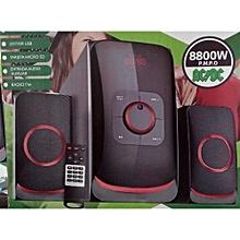 SUBWOOFER  SONYDIGITAL  SUPER SUBWOOFER-FM-USB-8800 W PMPO-