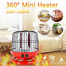Mini Electric Space Air Heater Fan Winter Warmer Home Desk Fast Blower