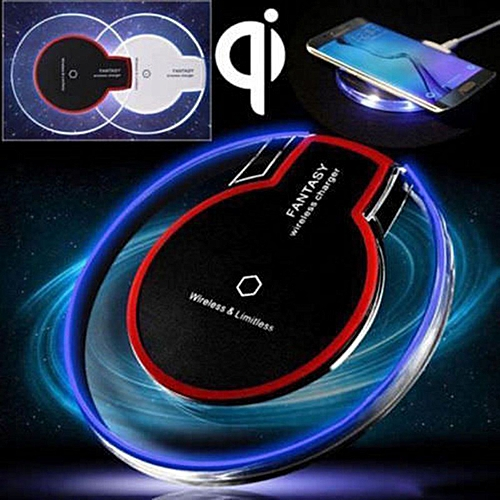 official photos b8cf1 39028 For Samsung Galaxy S9 / S9 Plus Qi Wireless Charger Wifi Charging Dock for  pad New Fast Charge For iPhone 8 Plus X Mobile Phone(Black 1pcs)