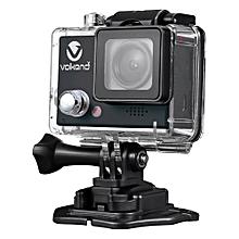 X Adrenalin Ultra HD (4K/1080 /720) Action Camera - Black