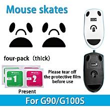 2 sets Teflon 0.6mm 3M Mouse Feet mouse Skates for Logitech G90 G100s Mouse