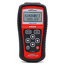 KW808 OBD2 Auto Scanner Code Reader EOBD/CAN Diagnostic Tool Kit LBQ