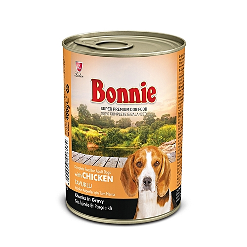 Adult Dog Food Canned Chicken (Chunks In Gravy) - 0.4Kg