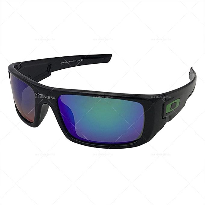 65bf89dc7806 Oakley Crankshaft Polarized Sunglasses OO9239-02 - Black Frame Jade ...
