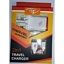 Android Smart Phone Charger - White