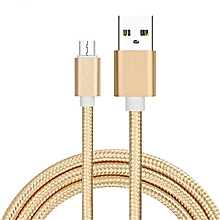 USB Charger Cable Charging  Android-gold
