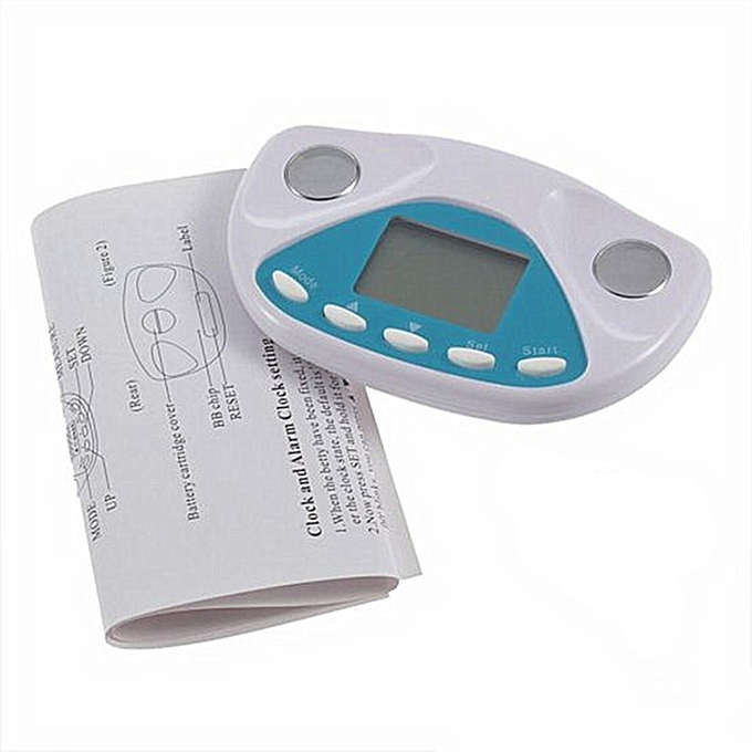 buy generic body fat analyzer monitor bmi meter weight loss tester