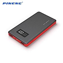 PINENG 6000mAh 2 USB PN-960 BLACK(Black) BGmall