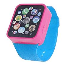 Henoesty Child Kids Toy Educational Smart Wrist Watch Learning Touching Screen Games BU