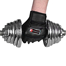 Gym Body Building Training Gloves Sports Weight Lifting Workout Exercise Black
