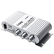 LP - 808 12V Protable HiFi Audio Stereo Amplifier