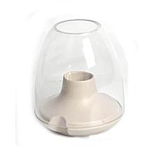 Candle Holder - Medium - Light Grey
