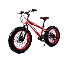 "16"" Red Fat Tire Bike"
