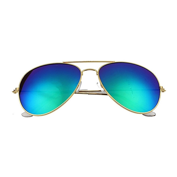 7c8c7ed4577 Women Men Classic Unisex Retro Sunglasses Metal Frame GD+GN