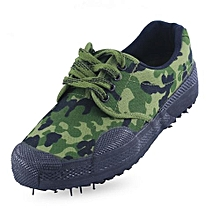 Low-slip Camouflage Military Training Shoes Work Site   Rubber Boots Shoes Men And Women