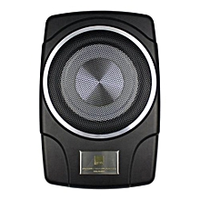 Underseat Powered Subwoofer with Remote Bass Control