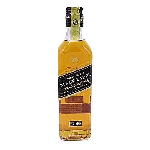 Premium Black Label: JOHNNIE WALKER Black Label Premium Scotch Whisky (12 Years