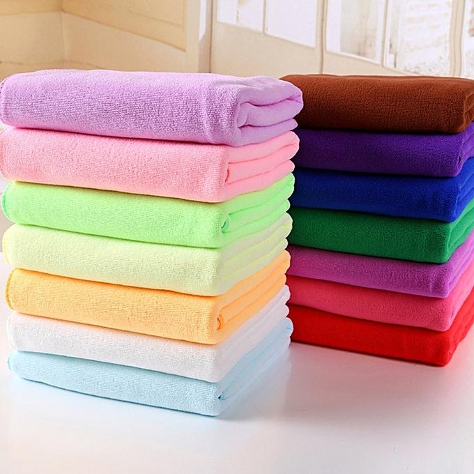 ... Microfiber Absorbent Drying Bath Beach Towel Washcloth Swimwear Hair Towel Royal Blue ...