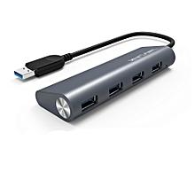 Wavlink WL-UH3048 USB 3.0 to 4 USB 3.0 Ports USB Hub for Laptop PC with DC 5V Port