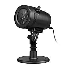 Party Landscape Projection LED Lights - EU Plug - White Light