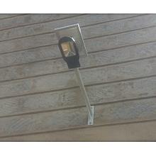 Solar Rechargeable LED Floodlight - Black