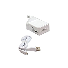 Faster Charger 3 Pin White