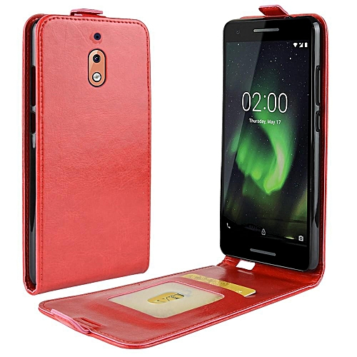 hot sale online 62364 93087 PU Leather Flip Cover Case for Nokia 2.1 / Nokia 2 2018 TA-1080 TA-1092