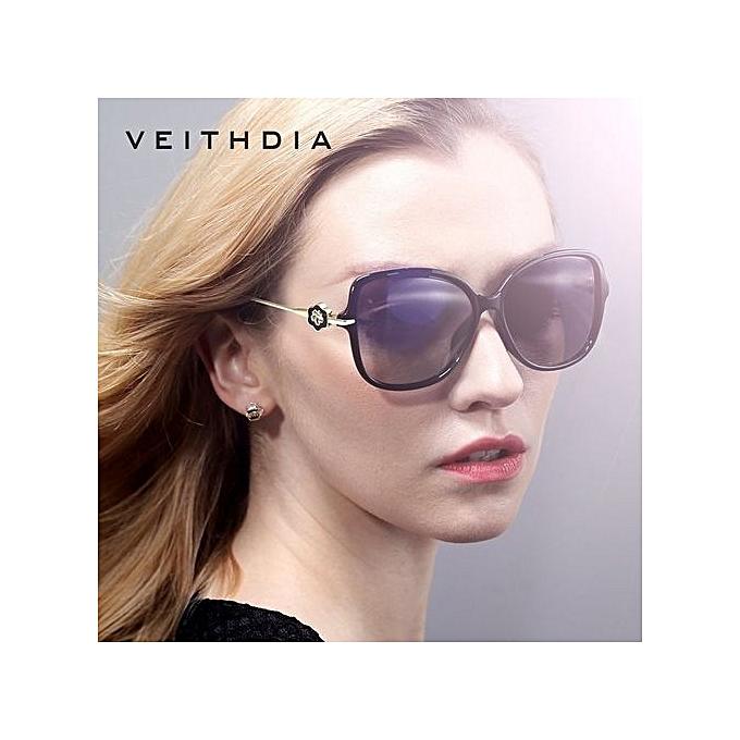 cb9e5ccc8a VEITHDIA TR90 Womens Driving Sun Glasses Polarized Mirror Lens Luxury Ladies  Designer Sunglasses Eyewear For Women
