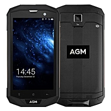 AGM A8 Shockproof Waterproof 5.0 Inch HD Display 4050MAH Battery 4G Phone-Black