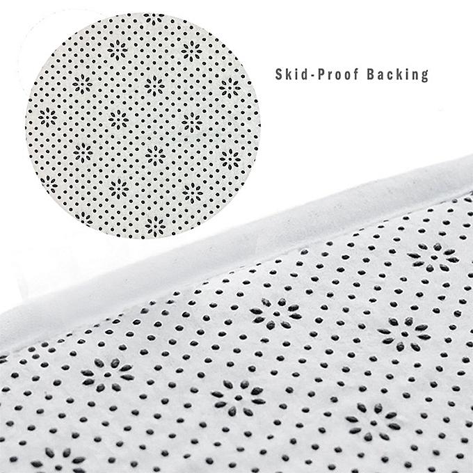 ... Flannel Starfish SeaShell Wood Bathroom Carpets Rugs Bath Mat Bath Rugs Anti-slip Kitchen Mats ...