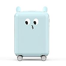 Xiaomi 18inch Lovely DIY Sticker Travel Suitcase TSA Lock Children Kid Trolley Carry On Luggage