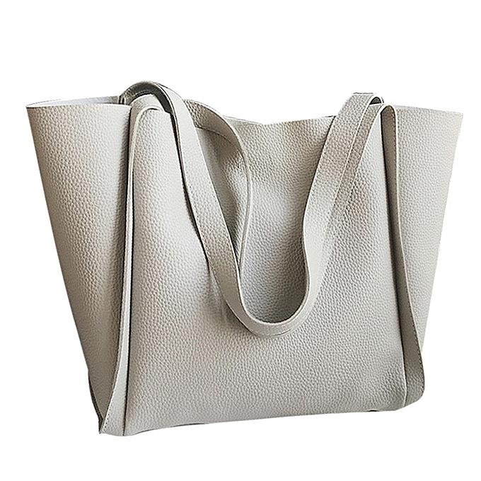 0818513bc571 guoaivo Women Two Piece Shoulder Bag Handle Bags Fashion Messenger Bags  Handbag Bag