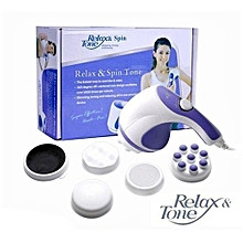 Amazing and durable Relax & Spin Tone Slimming Toning & Relaxing Body Massager