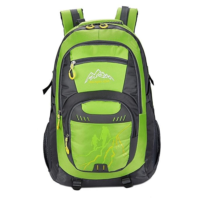 7d6a3e583c 50L Nylon Men women Waterproof Travel Bag Couple Sports Largecapacity  Travel Backpack - GREEN ...