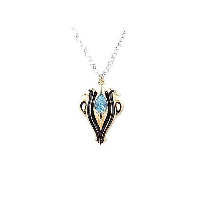 Tanson miniskirt jewelry fire emblem flame anima blue teardrop teardrop crystal pendant necklace httpskejumia60kmspc9hefmj5xpj1meougpllyfit in aloadofball Image collections
