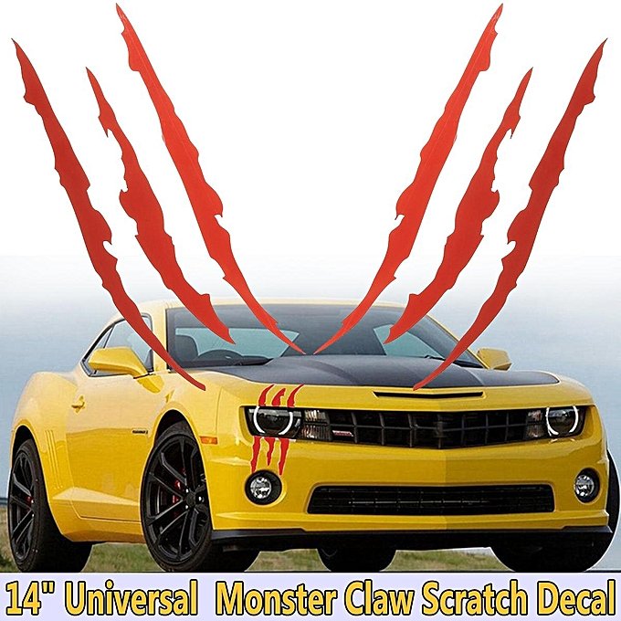Buy Generic 14 Inches Scratch Claw Monster Halloween Car