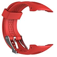 Replacement Wrist strap Silicagel Soft Band Strap For  Garmin Forerunner 10 -Red