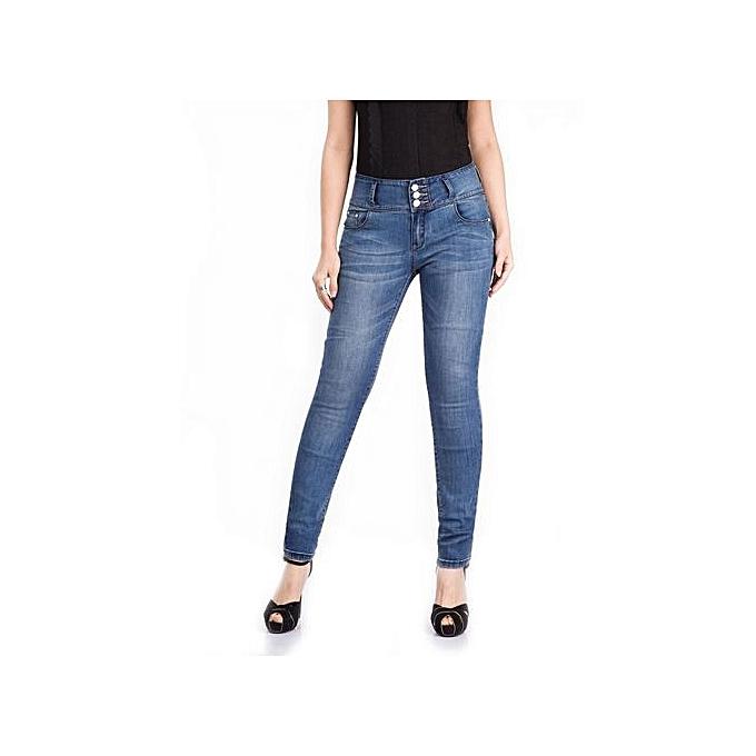 f7a9deab049 Jeans   Jeggings Hot Sale 2017 Big Size Plus Size Elastic Waist Jeans For  Women Wear