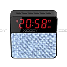 XGODY T1 New LED Wireless Speaker Music Box Radio Bluetooth 4.2 Speaker Stereo