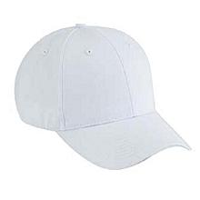 Plain Golf Hat -white