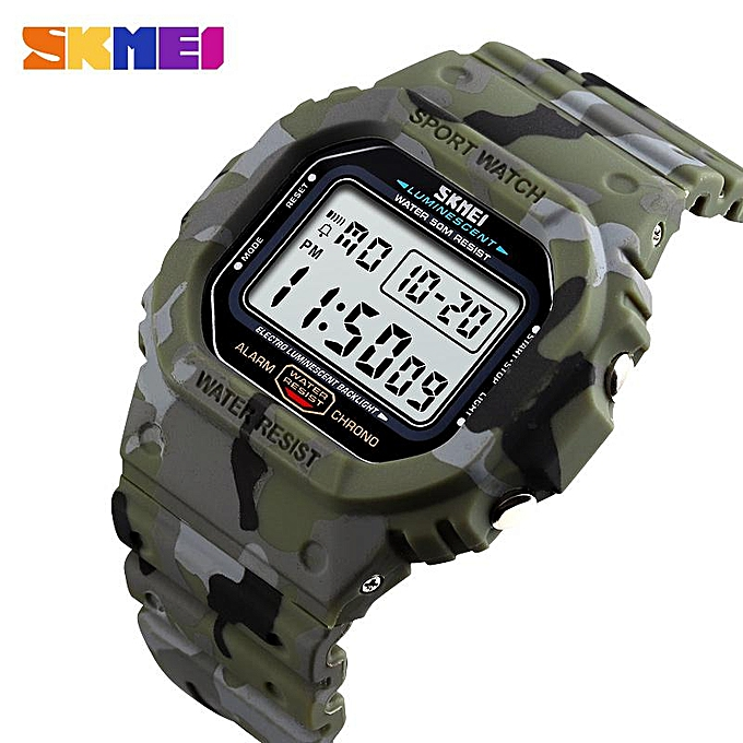 d8a0c4cff84 Skmei SKMEI Sport Watch Men Digital Watch Waterproof Fashion Watches ...