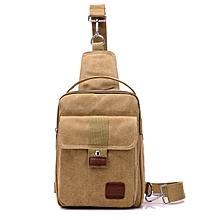 Men Multi-function Casual Bag Stylish Small Sling Bag Chest Bag Handbag
