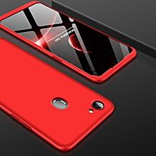 GKK for OPPO F7 PC 360 Degrees Full Coverage Protective Case Back Cover(Red)