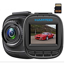 HAMTOD HQ15 1.5 inch TFT Screen HD Video Car DVR, with TF Card