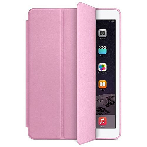 Slim Smart Case For IPad Air 2 Leather Stand Magnetic Cover 2014 Pink